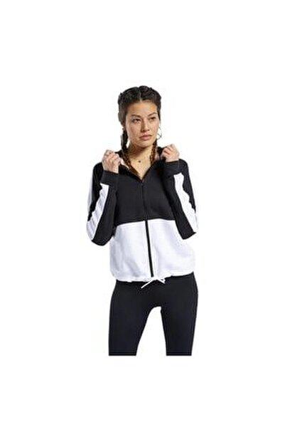 Fu2204 Te Linear Kadın Siyah Beyaz Sweat