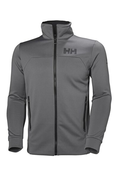 Helly Hansen Hp Fleece Erkek Arakatman Sweat Ceket Gri