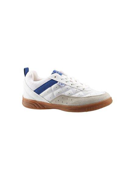 LIG Futsal Ayakkabı Salon Ayakkabısı - Beyaz - Monaco