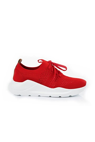 Oblavion Life Kırmızı Triko Sneaker