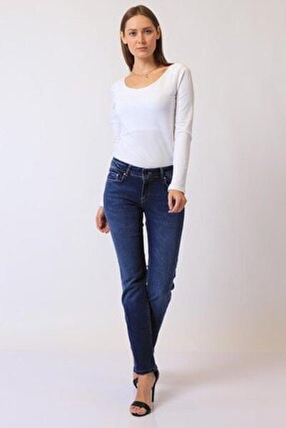 Kadın Slim Fit Düşük Bel Pantolon Suzy 9001-24 (T) 24