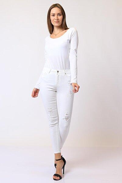 Twister Jeans Kadın Yüksek Bel Pantolon Mındy 9205-01 01