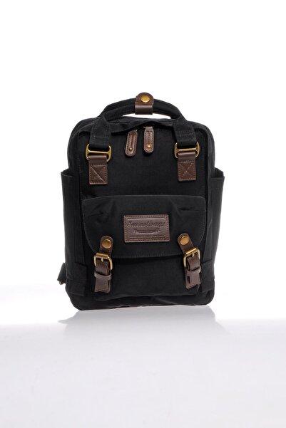 SMART BAGS Smb6008-0001 Siyah Kadın Sırt Çantası