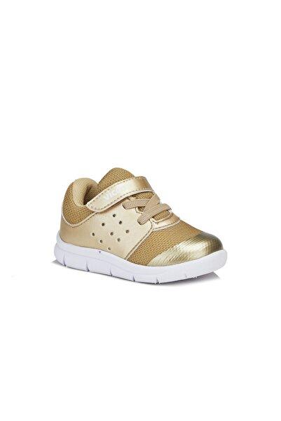 Vicco Mario Kız Çocuk Altın Spor Ayakkabı