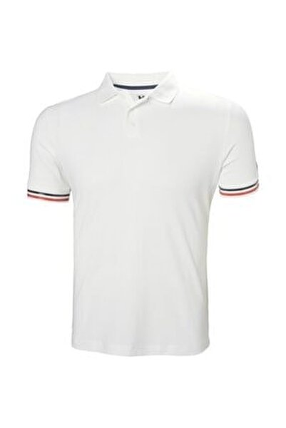 Hp Code Zero Erkek Polo Yaka Erkek T-shirt Beyaz