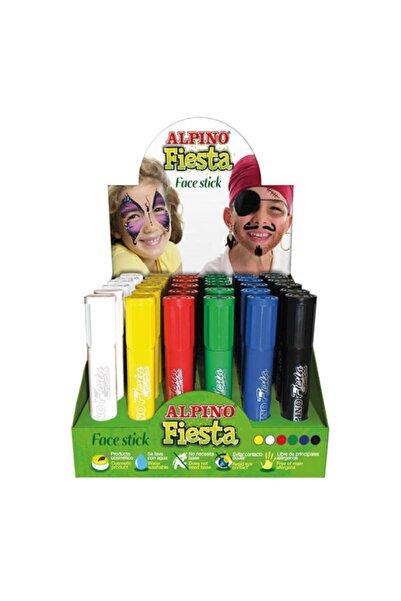 Alpıno Alpino Fiesta Özel Renkler Yüz Boyama Seti Alp-dl-000059 36 Lı (1 Paket 36 Adet)
