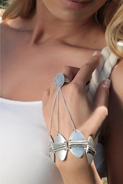 Nautilus Concept Antik Gümüş Kaplama Şahmeran