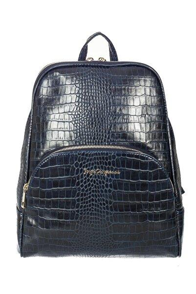 Sergio Giorgianni Luxury Sg1581 Laci Krk Kadın Sırt Çantası