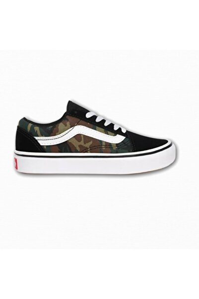Vans Uy Comfycush Old Skool Woodland Camo Unisex Çocuk Sneaker