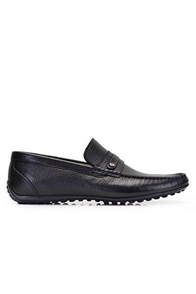 Nevzat Onay Siyah Yazlık Rok Erkek Ayakkabı -11574-