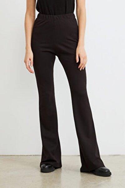 Ispanyol Paça Örme Pantolon
