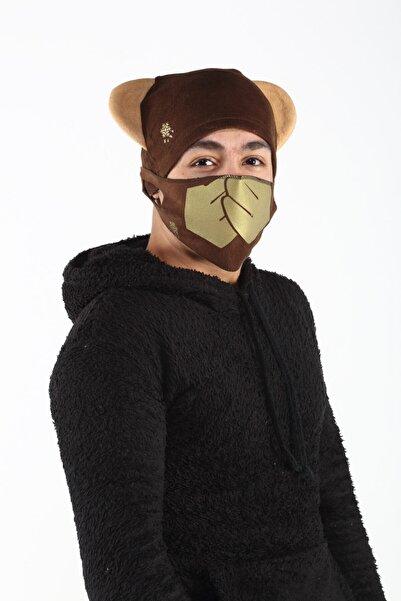 Bittigoo Kaşa- Maymun Çocuk Maskeli Bere