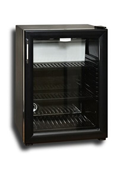 35 Litre Cam Kapılı Minibar - Black Edition