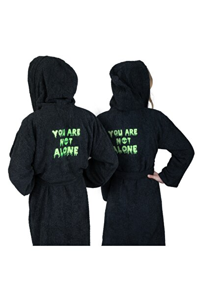 Minteks Universe Collection - You Are Not Alone Unisex Bornoz