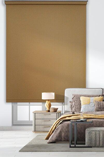 Rengin Home Kahverengi Mat Stor Perde