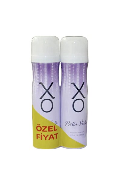 Xo Deodorant Bayan Bella Vista 2'li150ml