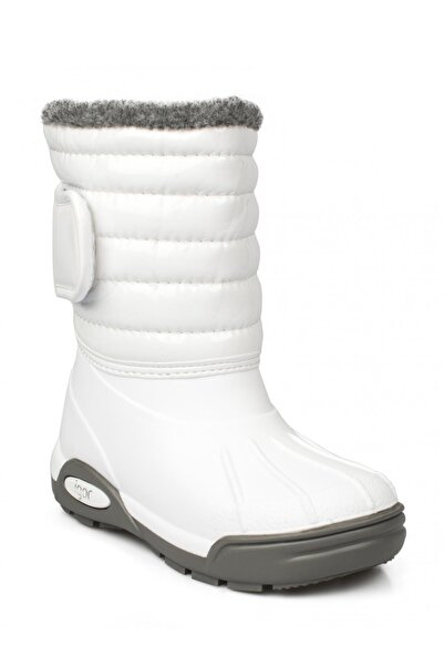 IGOR 10168k Topo Ski Charol Beyaz Çocuk Çizme