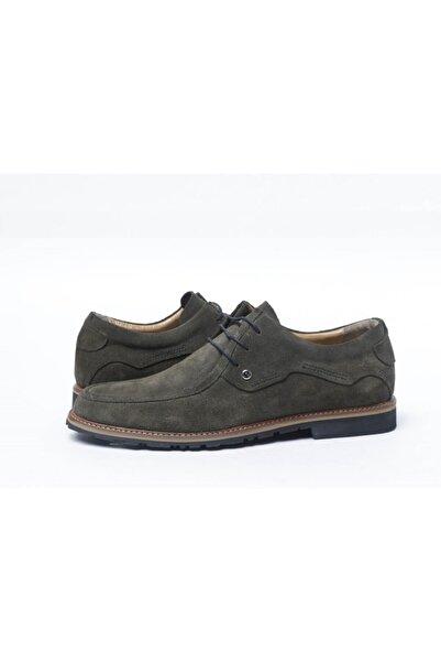 Pierre Cardin Haki Süet Bağcıklı Ayakkabı 10356