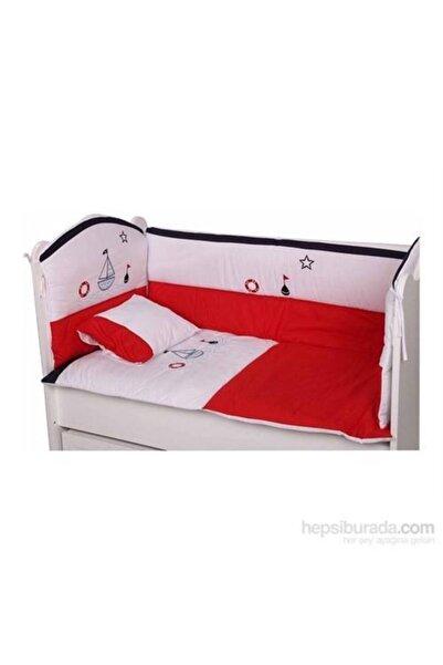 BabyHope Bebek Uyku Seti Kırmızı Gemici 70*130