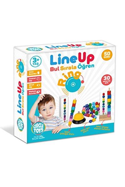 Circle Toys Line Up Ring - Bul Sırala Öğren 50 Soru 30 Geometrik Şekil Eğitim Seti