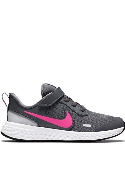 Nike Kız Çocuk Gri Nıke Revolutıon 5 (Psv) Yürüyüş Koşu Ayakkabı Bq5672-015-gri