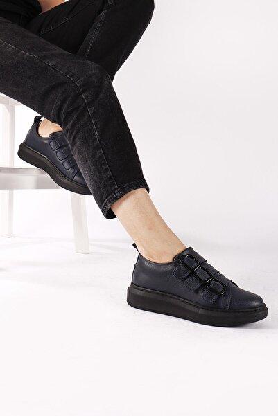 Moda Eleysa Nova 3 Bant Ortopedik Spor Ayakkabı