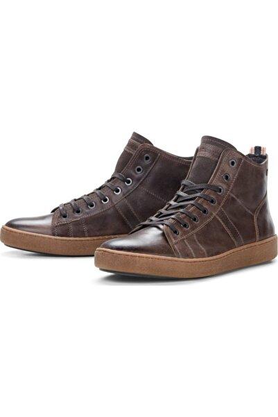 Jack & Jones Jfwduncan Leather Pırate Black Sts Erkek