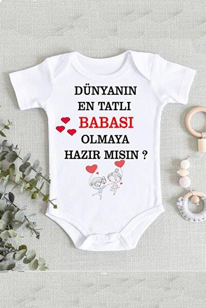 hamiletshirtum Baba Oluyorsun Müjde Bebek Zıbın Body