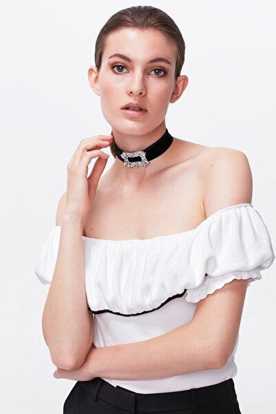 İpekyol Kadın Bluz - Beyaz