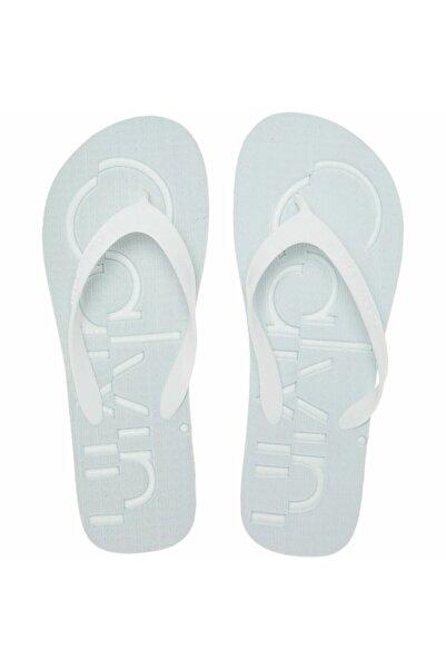 Calvin Klein Ünisex Sandalet - Beyaz