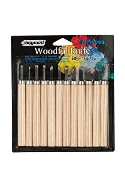 Ahşap Oyma 12'li Set (Woodful/graver Knife)