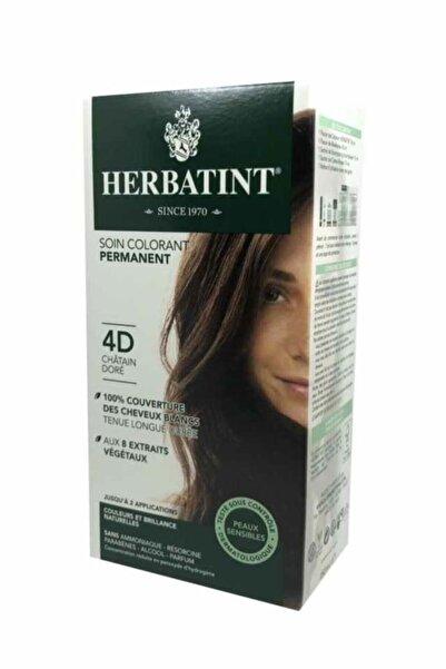 Herbatint Kalıcı Bitkisel Saç Bakım Boyası - Golden Chestnut 4d Altın Kahve 150 ml 8016744500111