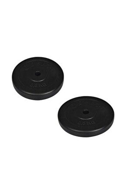 Siyah Vinyl Kaplı Plaka ( Çiftli ) 0,5 Kg X 2 Adet Ds 9908