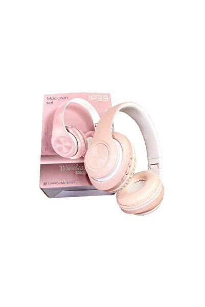 Torima P33 Bluetooth Kablosuz Stereo Kulaklık Pembe