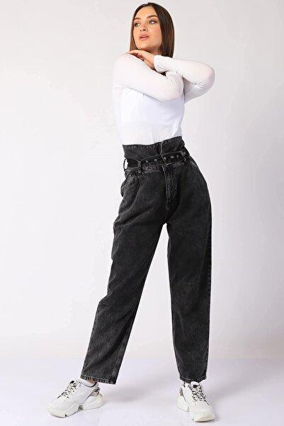 Twister Jeans Kadın Pantolon Bp 9377-02 Sıyah