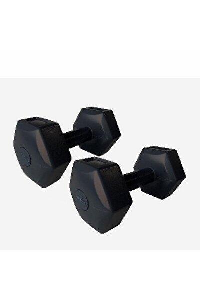 Dynamic Dynmic Fitness Dumbell Dambıl Seti 2 Kg X2 Pvc Siyah