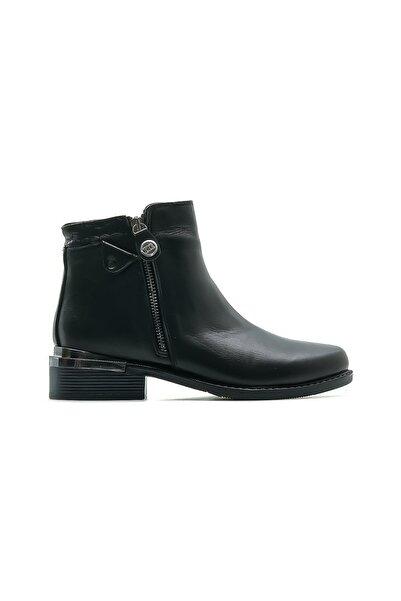 Mammamia Hakiki Deri Kadın Casual Bot Ayakkabı 20k D20kb-1660 Z