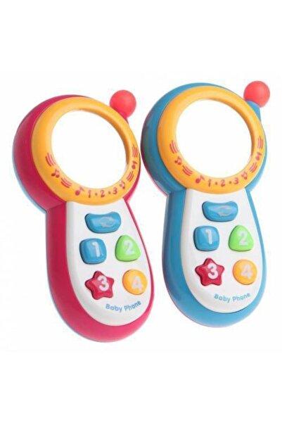 ERKOL OYUNCAK Sesli Işıklı Ve Müzikli Aynalı Ekranlı Oyuncak Bebek Telefonu