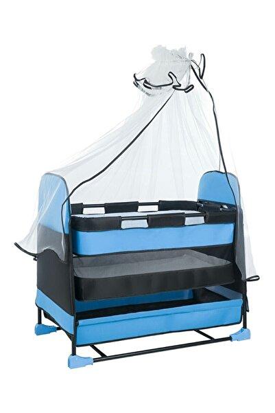Jimmybaby Jimmy Baby Lüx Sepet Beşik Hamak Mavi Beşik Sallanan Bebek Beşiği