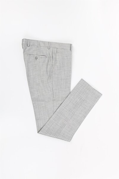 Jakamen Gri Renk Slim Fit Erkek Pantolon