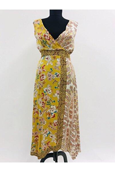 BSL Kadın Kuşaklı Elbise