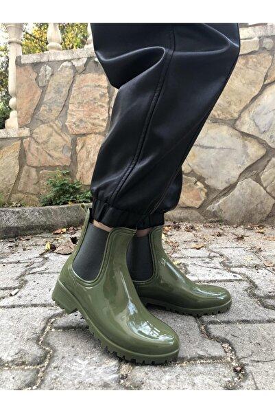 EMMY CLUB Kadın Yeşil Yağmur Botu