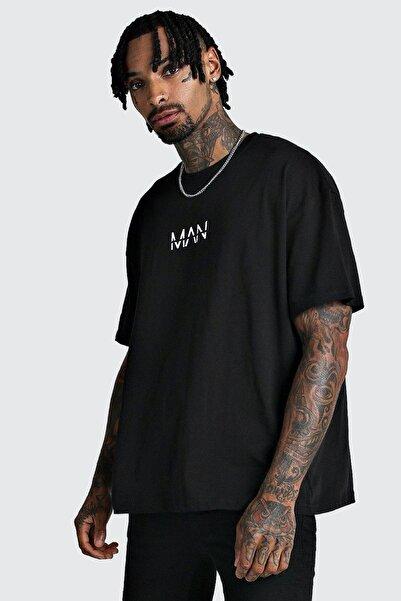 Oksit Crash Man African Erkek Oversize Tshirt