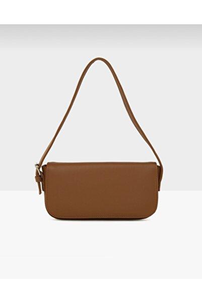bag&more Kadın Taba Kapaklı Baget Çanta