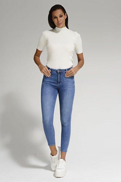 Batik Mavi Kadın Jean Pantolon A1088