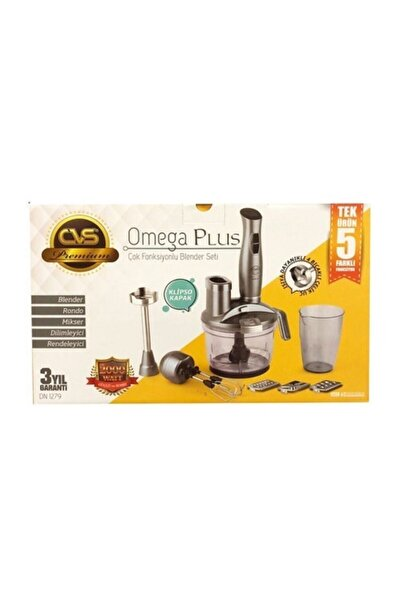CVS Dn 1279 Omegaplus 5'li Blender Set 2000w