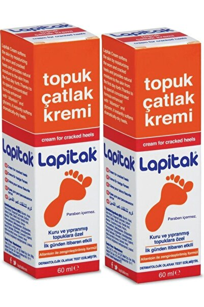 Lapitak Topuk Çatlak Kremi 60 ml - 2 Adet