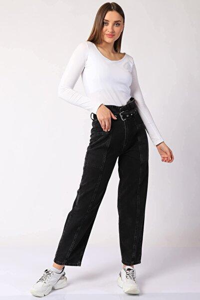 Twister Jeans Kadın Pantolon Bp 9379-01 Antrasıt