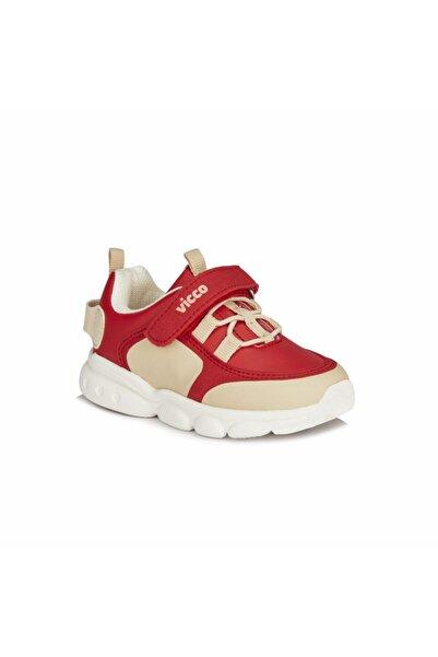 Vicco Dabi Unisex Çocuk Kırmızı Spor Ayakkabı