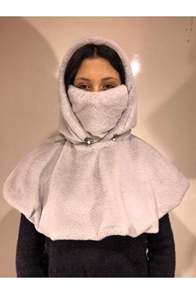 Myra Kadın Bolero Kapsonlu Maskeli Bere Pelus